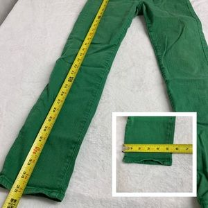 Ag Adriano Goldschmied Jeans - AG Stevie Slim Straight Ankle Green Jeans